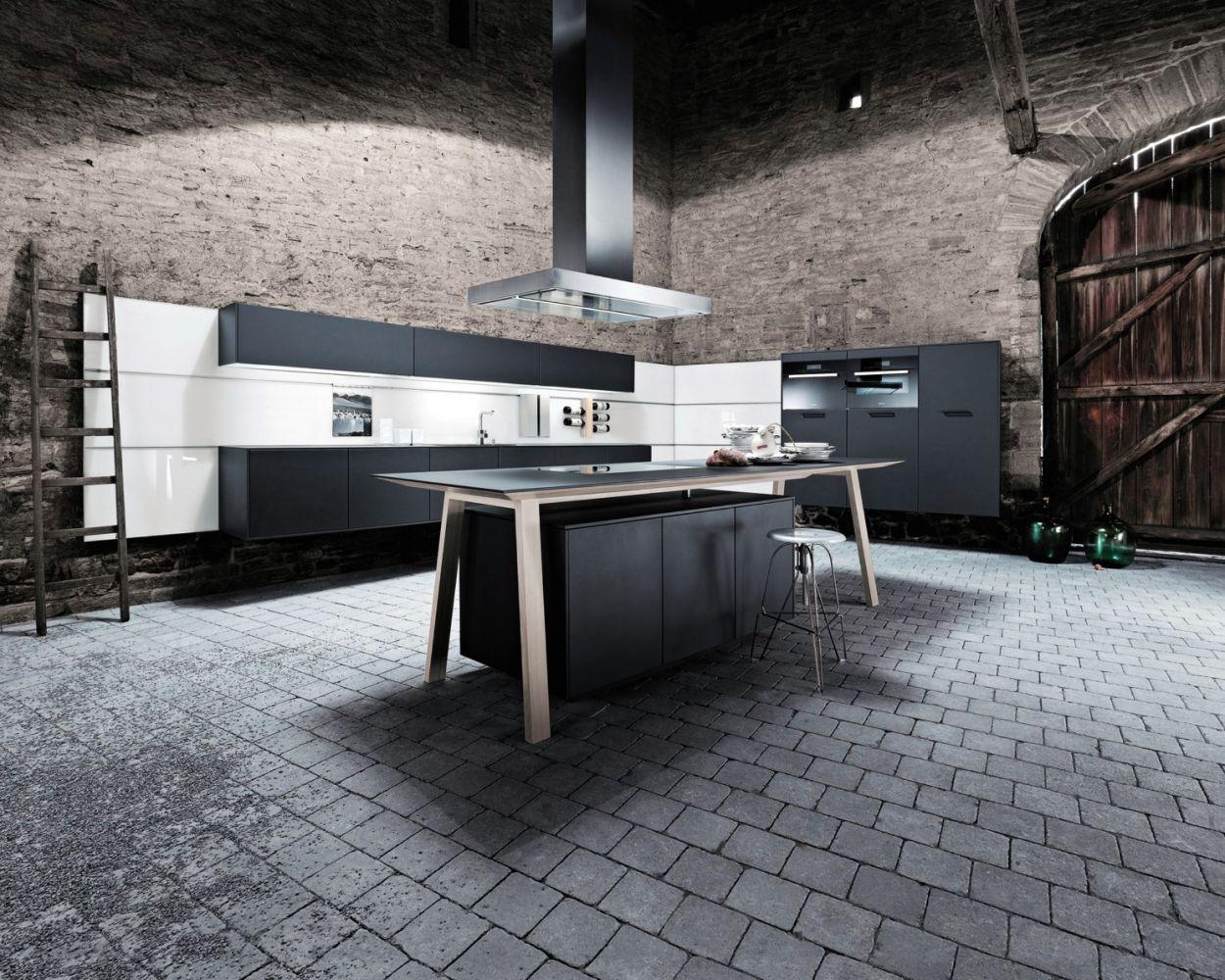 cuisine moderne sans meuble haut